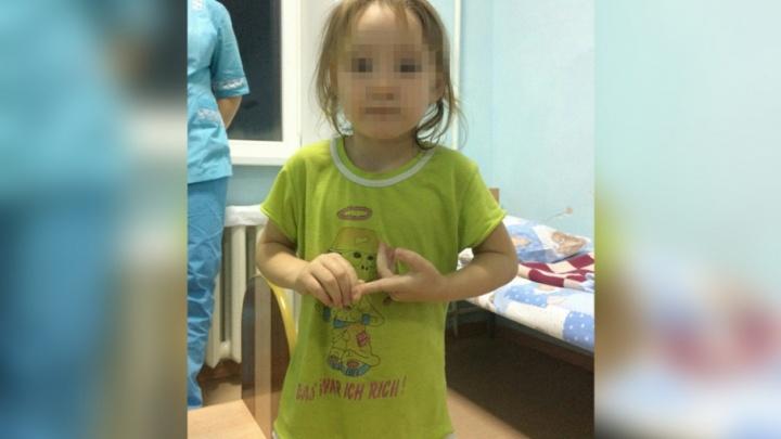 Четырёхлетняя девочка в футболке и трусиках прогуляла ночь одна по Южноуральску