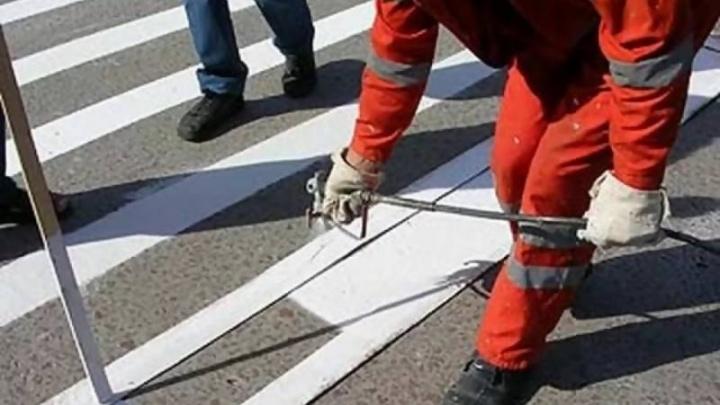 Дорожную разметку обновили в Северном и Маймаксанском округах