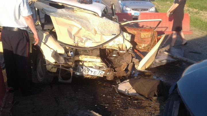 Два человека погибли в аварии на федеральной трассе Тюмень–Омск