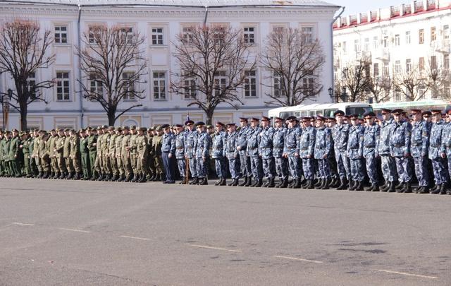 В Ярославле отрепетировали День Победы