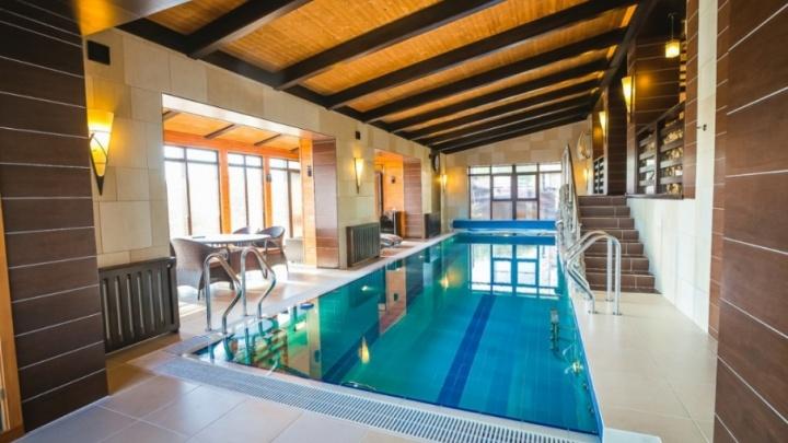 Самый дорогой дом с бассейном в Челябинске выставили на продажу за 110 миллионов рублей