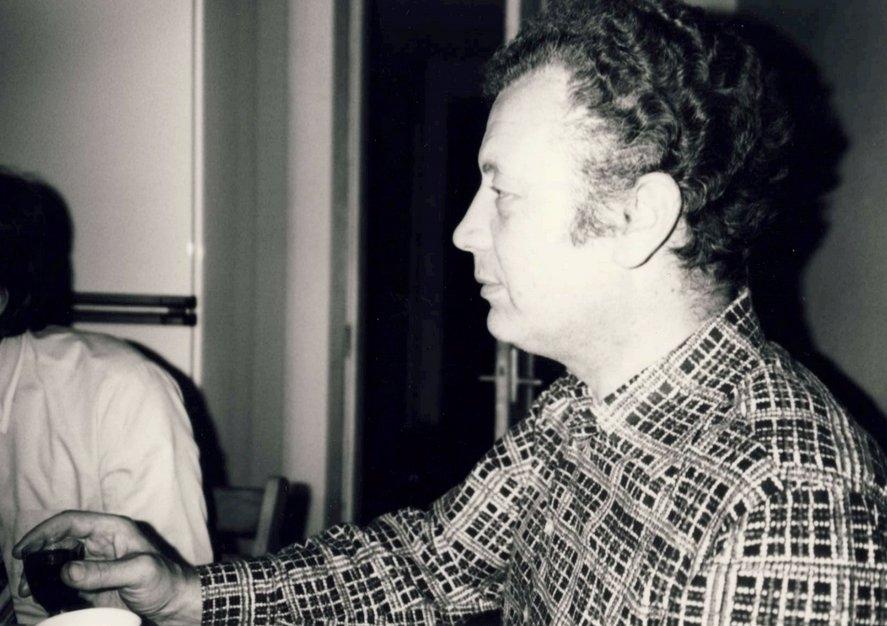 Виктор Чижиков в Хельсинки. 1980 год. На следующий день он сказал свою знаменитую фразу, ставшую афоризмом: «Последние пятнадцать рюмок может быть были лишними»