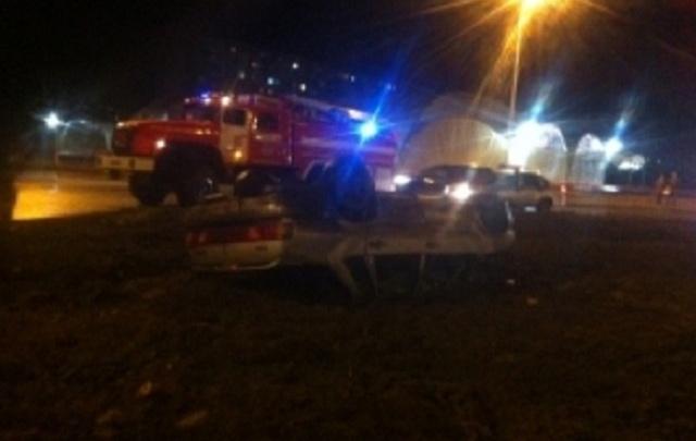 В Ярославской области перевернулись «жигули»: есть пострадавший