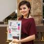 Победительницу модного проекта поздравили в канун Нового года
