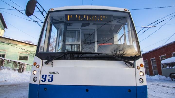 В Самаре троллейбус №16 запустят по новому маршруту только весной