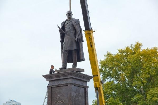 Открытие памятника Столыпину экстренно перенесли