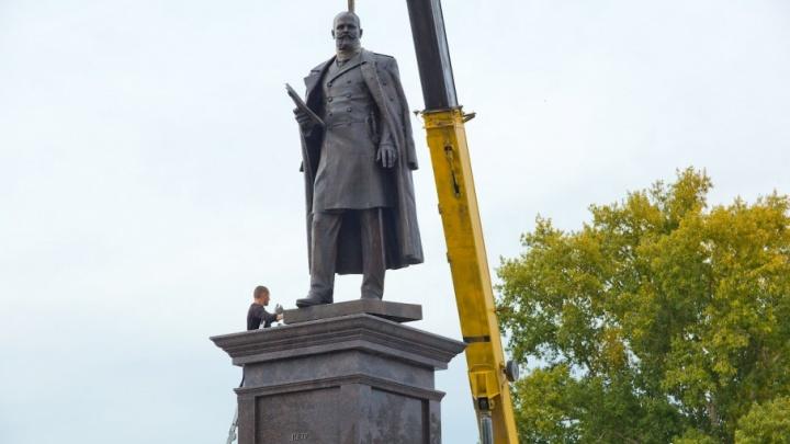 Дождался! Памятник Столыпину в Челябинске откроет Евгений Редин