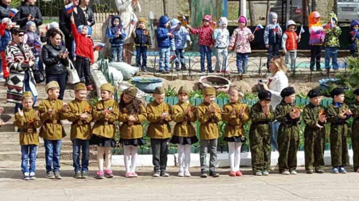 В Самаре в одном из детских садов прошел настоящий  костюмированный парад