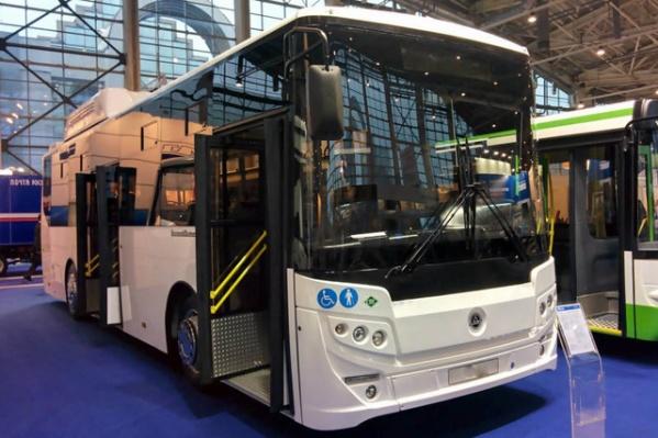 Сейчас на маршруте работают два новых автобуса