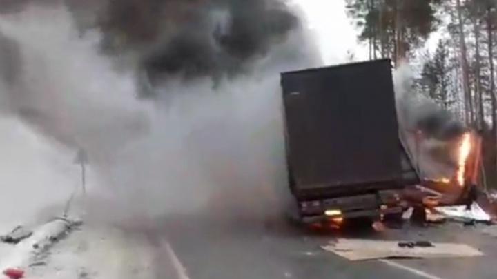 Отец и сын погибли в аварии на трассе Тюмень — ХМАО