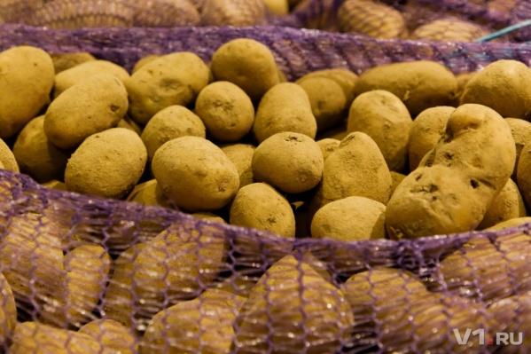 Даже на картошку взлетели цены в январе
