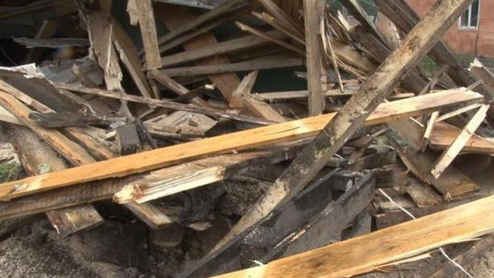 Уже успели провести электричество: в Перми снесли несколько цыганских домов