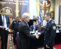 Виктор Басаргин поздравил Президентский полк с 80-летием воинской части