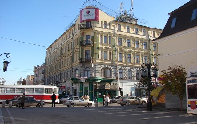 В Самаре выставили на продажу бывшую гостиницу «Националь»