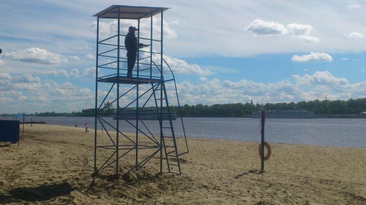 На пляжах Ярославля будут оповещать сигналами, когда можно плавать