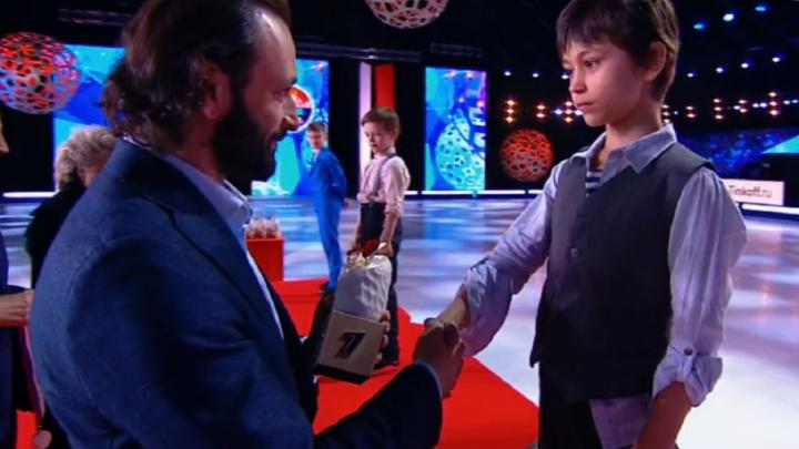 «У него чемпионский характер»: юный фигурист из Перми стал призером шоу «Ледниковый период. Дети»