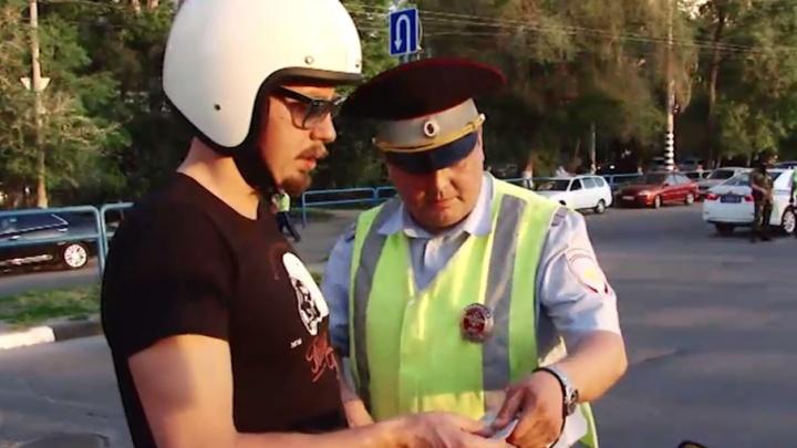 ГИБДД: мотоциклисты в Самаре ездят без шлемов и документов