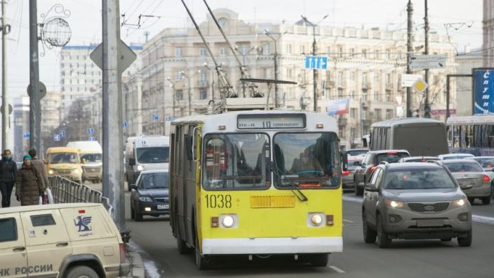 Пробки мешают: в Челябинске сделают специальные полосы для общественного транспорта