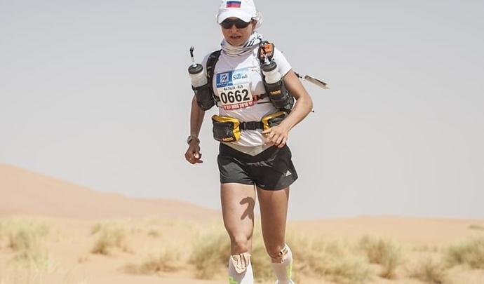 По горам и песчаным дюнам: пермская бегунья примет участие в ультрамарафоне по оманской пустыне