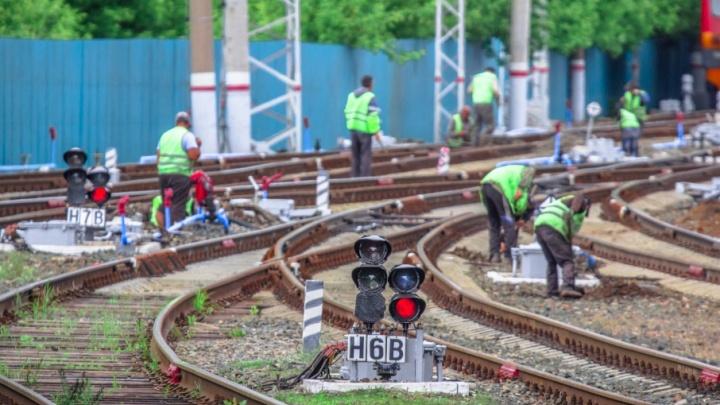 В локомотивном депо Самары работали необученные сотрудники