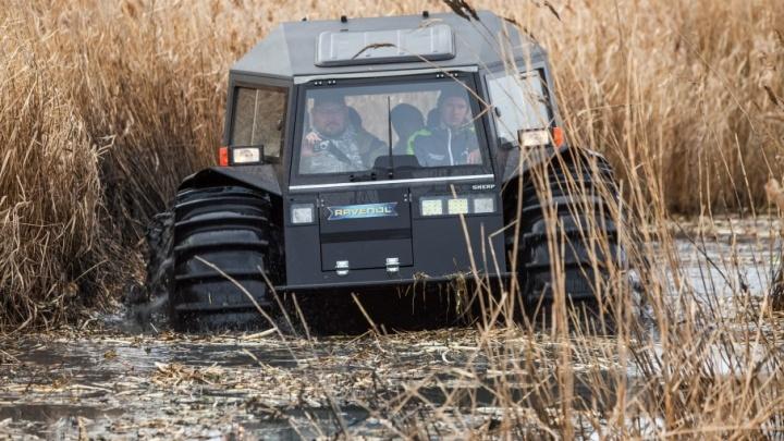 То, что нужно южноуральцам: фоторепортаж с тест-драйва российского вездехода