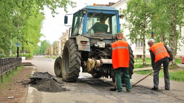 Гарантийные дороги Архангельска обещают отремонтировать до 20 июня