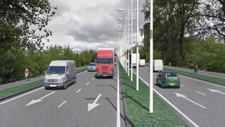 В Перми разработают проект дороги между площадью Гайдара и шоссе Космонавтов