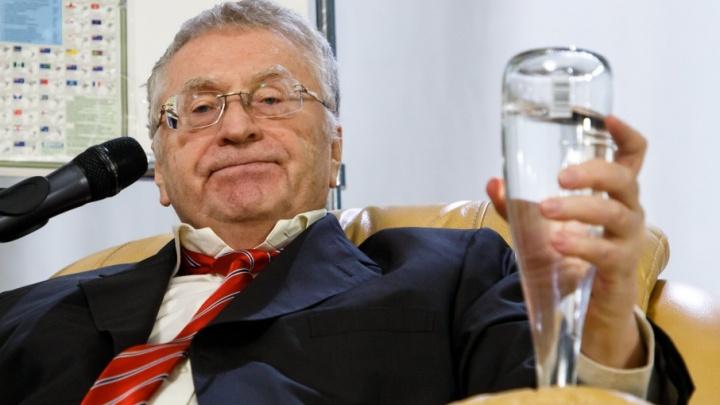 Владимир Жириновский в Волгограде: «Все хотят руководить планетой из Москвы»