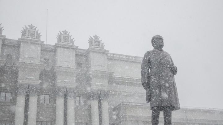 Снег и метель: в Самарской области ожидается потепление