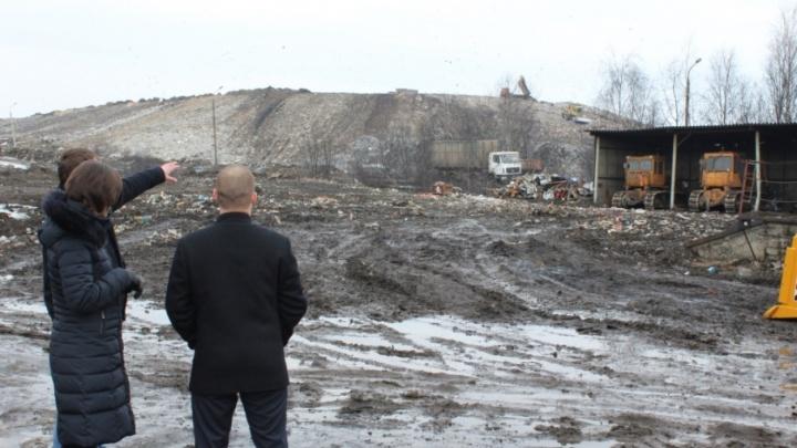 Комиссия проверила полигон Скоково на экологическую безопасность