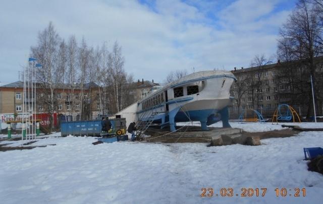 В Рыбинске реставрируют «Ракету»