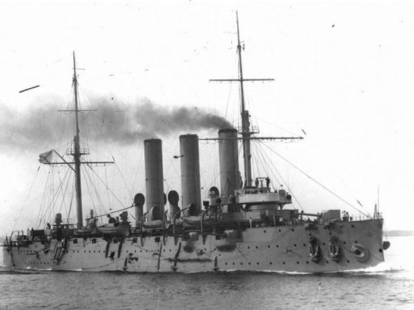 """Крейсер """"Аврора"""", 1916 год"""