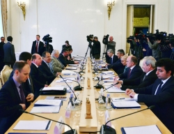 Виктор Басаргин принимает участие в заседании Совета глав субъектов РФ при МИД России