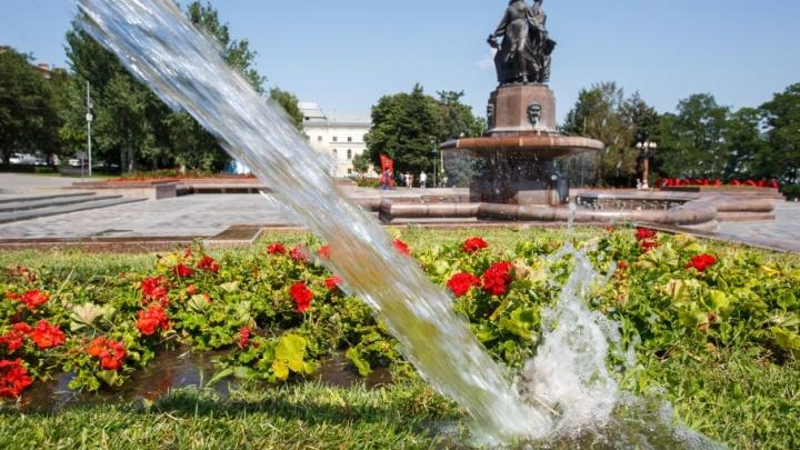 В Волгоград на пару дней наведается 30-градусная жара