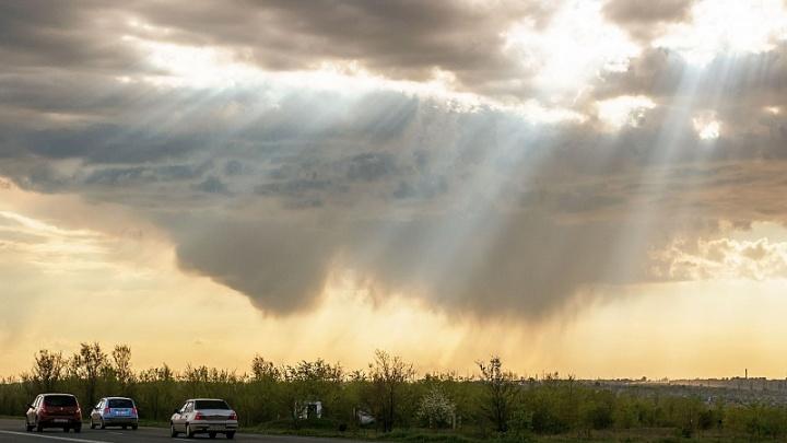 Конец рабочей недели в Самарской области пройдет под аккомпанемент дождя и грозы