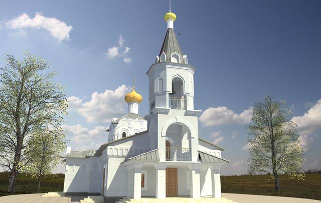В Советском районе Волгограда начнут строить храм в поселке Горная Поляна
