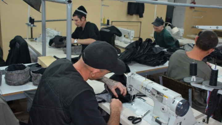 Заключенных Волгоградской области превратили в швей-мотористов