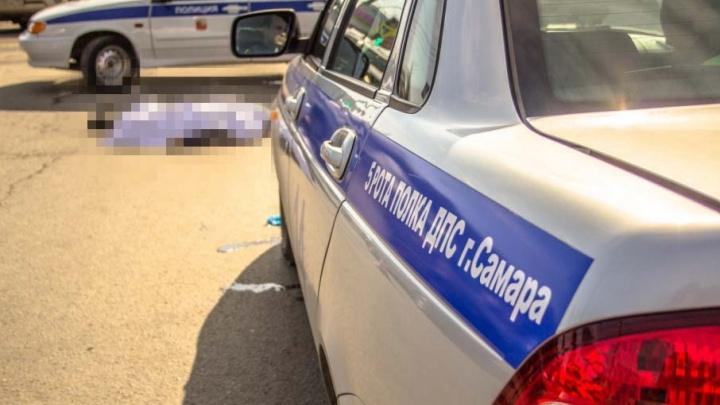 В Безенчуке поймали водителя, который сбил пешехода и сбежал