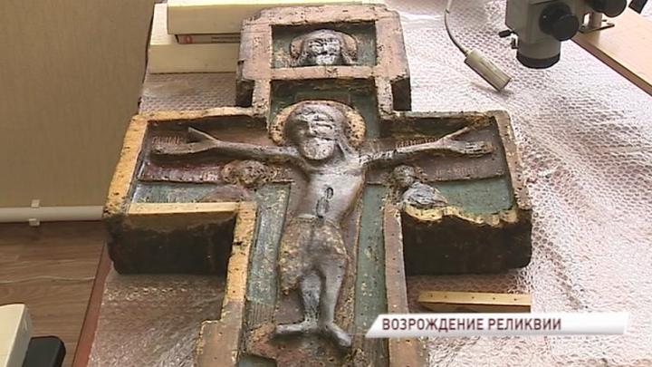 В Ярославской области отреставрируют животворящий крест XIV века