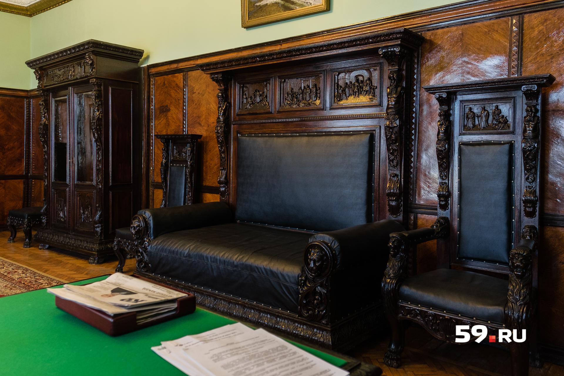 Знаменитый «кабинет Чичерина» оказался в Перми во время войны