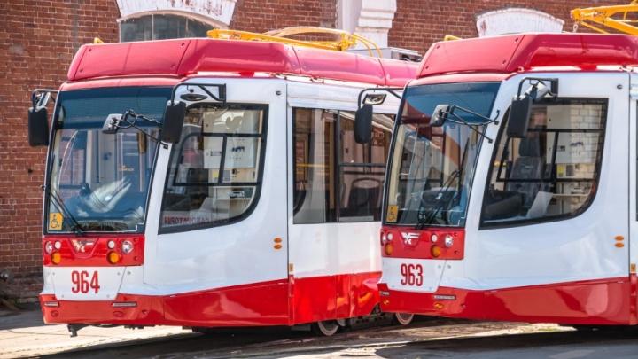 6 мая в Самаре приостановят движение трамваев по семи маршрутам