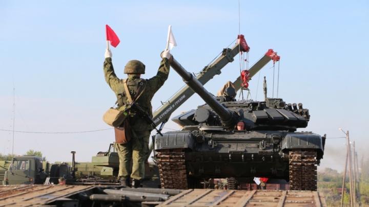 Под Самарой на полигоне устроят бой на танках Т-72Б3