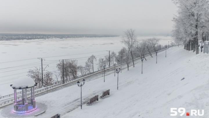 Снегопады и похолодание: синоптики рассказали о погоде в Прикамье на март