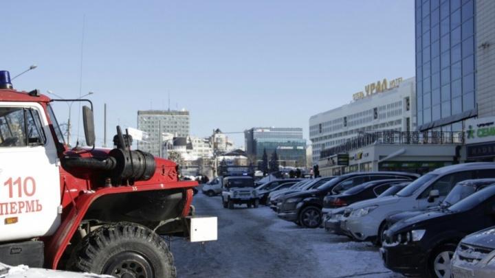 В Перми эвакуировали ТЦ «Колизей Атриум»