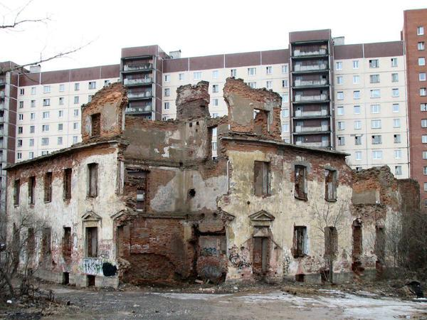 "Постоялый двор на Рыбацком проспекте//<a href=""http://www.citywalls.ru"">Архитектурный сайт Санкт-Петербурга</a>"