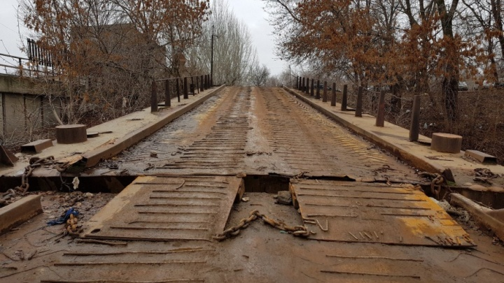 На юге Волгограда нашлась самая страшная дорога