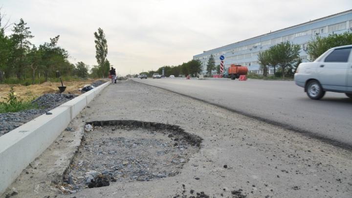 Волгоградцы: протяженность «убитых» дорог в городе – 355 километров