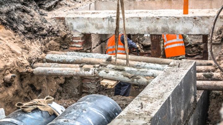 В поселке Мехзавод планируют переложить 125 метров канализационных труб