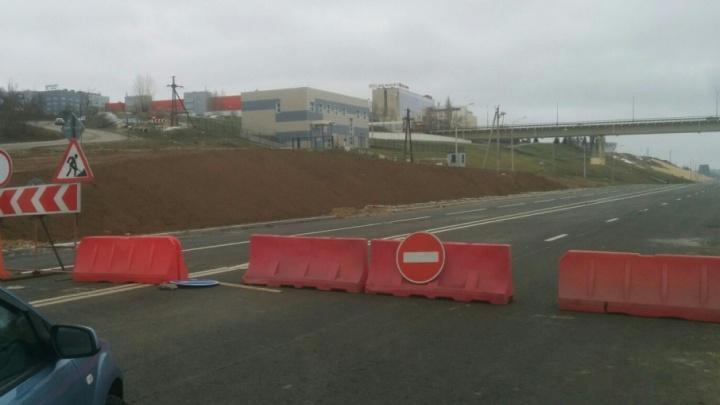Автомобилисты Волгограда устали ждать открытия Нулевой Продольной