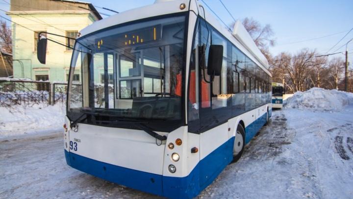 Троллейбусы вернутся на кольцо Московского шоссе и Кирова 22 января